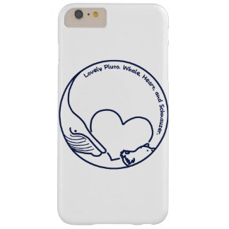 < Pluto >Pluto - Whale, Heart and Schnauzer (Navy) Barely There iPhone 6 Plus Case