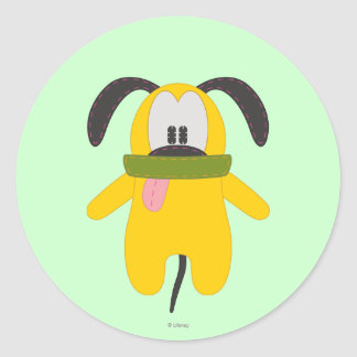 Pluto | Pook-a-Looz Classic Round Sticker