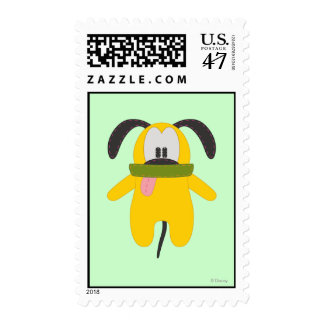 Pluto | Pook-a-Looz Postage Stamp