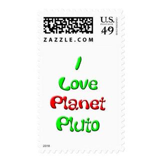 Pluto Postage Stamp