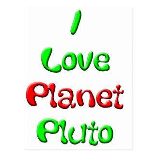 Pluto Postcard