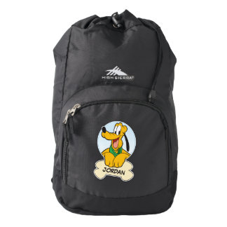Pluto   Pup with Name Backpack