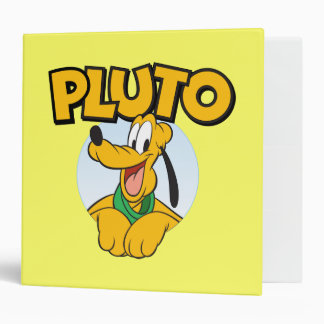 Pluto | Pup with Name Binder