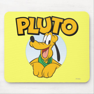 Pluto | Pup with Name Mouse Pad