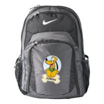 Pluto | Pup with Name Nike Backpack