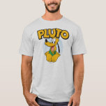Pluto   Pup with Name T-Shirt