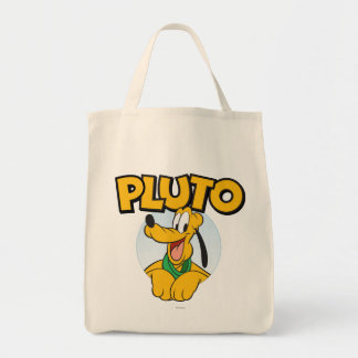 Pluto   Pup with Name Tote Bag
