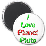 Pluto Refrigerator Magnets