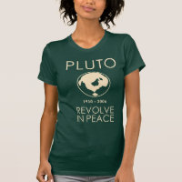 Pluto Revolve In Peace Shirt
