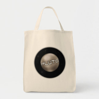 Pluto Seal Grocery Tote Bag