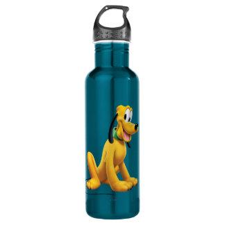 Pluto Sitting 1 24oz Water Bottle