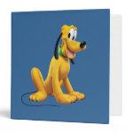 Pluto Sitting 1 3 Ring Binder