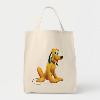 Pluto Sitting 1 Grocery Tote Bag