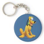 Pluto Sitting 1 Keychain