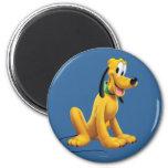 Pluto Sitting 1 Magnet