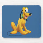 Pluto Sitting 1 Mousepads