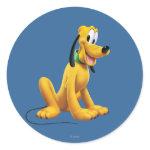 Pluto Sitting 1 Sticker