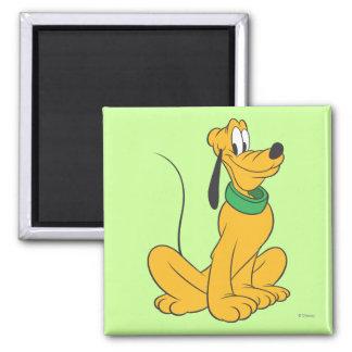 Pluto Sitting 2 Refrigerator Magnets