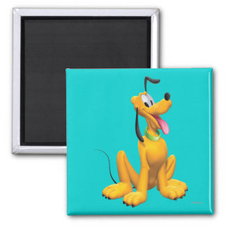 Pluto Sitting 4 Refrigerator Magnets