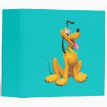 Pluto Sitting 4 Vinyl Binder