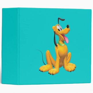 Pluto Sitting 4 Vinyl Binders