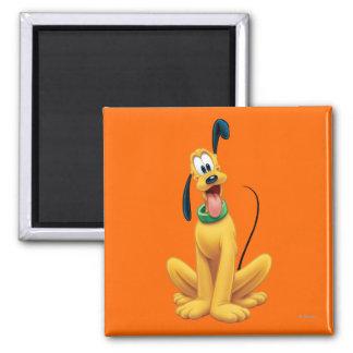 Pluto Sitting 5 Refrigerator Magnet