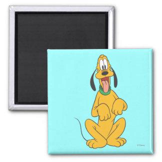 Pluto Sitting 6 Refrigerator Magnets