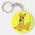 Pluto | Sitting Keychain