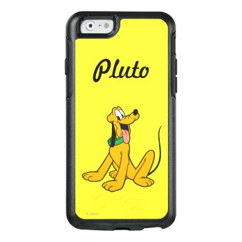 Pluto | Sitting Otterbox Iphone 6/6s Case by disney at Zazzle