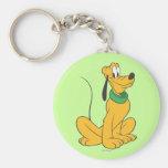 Pluto | Sitting Straight Up Keychain