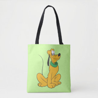 Pluto   Sitting Straight Up Tote Bag