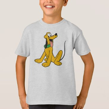 Disney Themed Pluto | Sitting T-Shirt