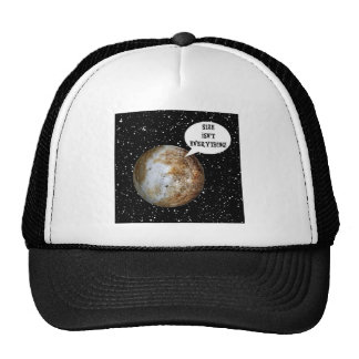 PLUTO - SIZE ISN'T EVERYTHING! (solar system) ~.jp Trucker Hat