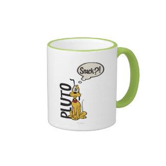 Pluto - Snack? Ringer Coffee Mug