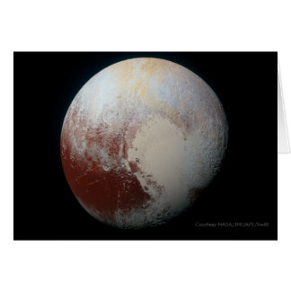Pluto - The Largest Dwarf Planet Card