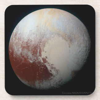 Pluto - The Largest Dwarf Planet Coasters-Set of 6 Beverage Coaster