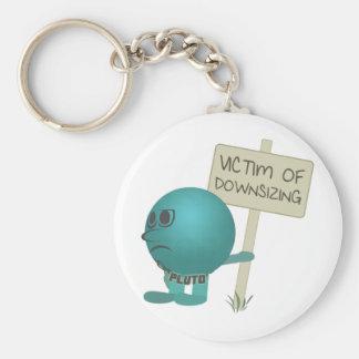 Pluto: Victim of Downsizing Keychain