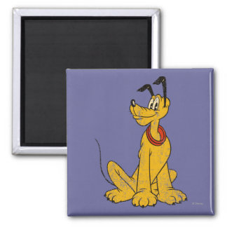 Pluto   Vintage & Distressed Magnet