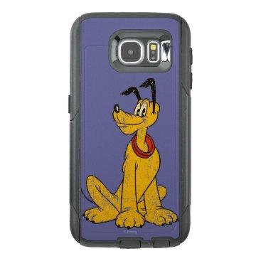 Disney Themed Pluto   Vintage & Distressed OtterBox Samsung Galaxy S6 Case
