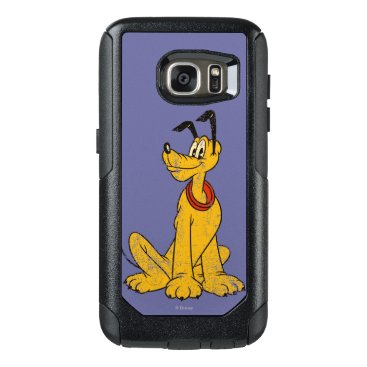 Disney Themed Pluto | Vintage & Distressed OtterBox Samsung Galaxy S7 Case