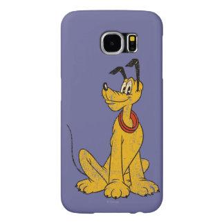 Pluto   Vintage & Distressed Samsung Galaxy S6 Case
