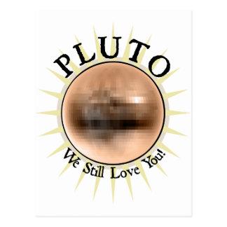 Pluto - We Still Love You Postcard