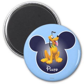 Plutón 1 imán de frigorífico