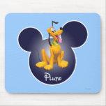Plutón 1 tapete de ratones