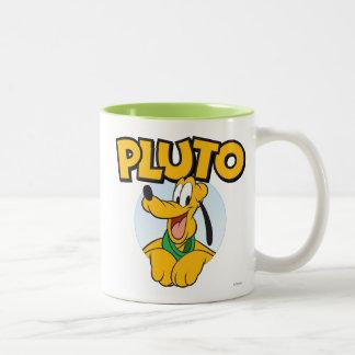 Plutón 2 taza dos tonos
