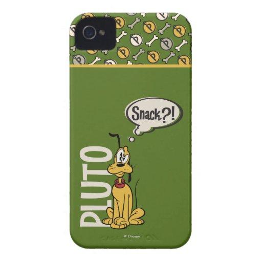 ¿Plutón - bocado? iPhone 4 Case-Mate Carcasa