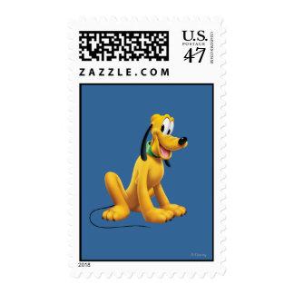 Plutón el   observa para echar a un lado sello postal