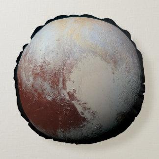 Plutón - el planeta enano más grande cojín redondo