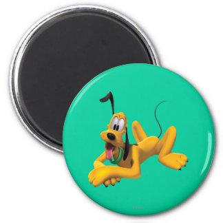 Plutón el   que pone con el oído para arriba imán redondo 5 cm