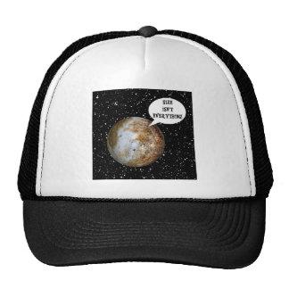 ¡PLUTÓN - EL TAMAÑO NO ES TODO! (Sistema Solar) Gorros